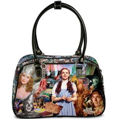 The Bradford Exchange Wizard Of Oz Handbag: Theres No Place Like Home Wizard Of Oz Decor, Wizard Of Oz Collectibles, Land Of Oz, Bradford Exchange, Yellow Brick Road, Over The Rainbow, The Wiz, Little Dogs, Classic Movies