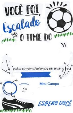 Cruzeiro Soccer Party, Sports Party, Football Birthday, Paris, Invitations, Lucca, Google, Palm Plants, Soccer Party Favors