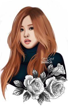 Rosé BLACKPINK fanart byBiaLobo #blackpink #rose #blackpinkrose #moonshot #blackpinkfanart #yg #ygentertainment #fanart #design #draw #drawing #digital #art #artwork #artworks #wallpaper #wallpaperiphone #artist #digitalart #digitalartwork #digitalartist #deviantart #sketchbook #koreanfanarts