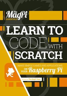 Learn to code on your Raspberry Pi with Scratch, the world& leading visual programming language, and the team behind the official Raspberry Pi magazine… Pi Computer, Computer Coding, Computer Technology, Computer Programming, Computer Science, Python Programming, Basic Programming, Teaching Technology, Teaching Biology