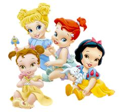 Disney Babies Clip Art | Disney Baby Princesses - Clip Art On Line