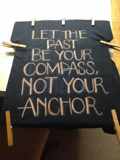 Anchor quote shirt