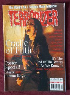 Terrorizer Magazine #61 December 1998 Cradle Of Filth Slayer Dimmu Borgir Metal