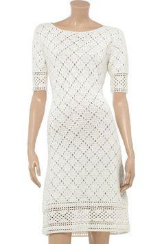White elegant dress ♥LCD♥ with diagrams