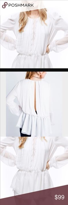 Free People. Must Have!! NWT The most gorgeous top ever. Get it now. Free Country Tops Blouses