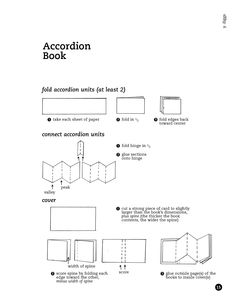 accordion fold out book - Google Search