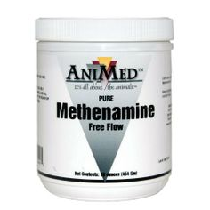 METHENAMINE POWDER - 1 LB by Animed. $11.95. One scoopful is equivalent to approximately 60 grams of methenamine. For veterinary use only.