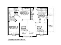 Garage apartment house- Second floor- Just Garage Plans