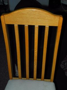 Solid Oak Dining Chairs  with great back supportThese chairs will last a life time6 for R2400