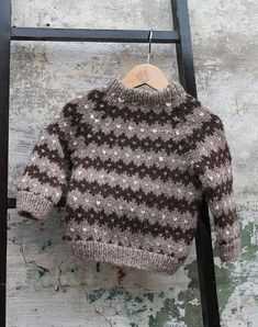 Fjeld sweater baby strikkekit