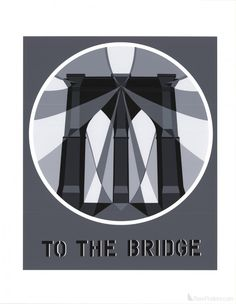Robert Indiana- To the Bridge (Brooklyn Bridge)