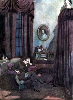'The bells and other poems' Edgar Allan Poe; illustrator Edmund Dulac by ruth