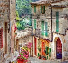 Mallorca-Spain, Valldemossa