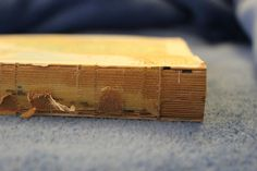 How to unbind a hardcover book