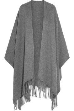 ACNE STUDIOS Fringed wool wrap
