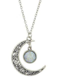 Choker Necklace for Women Girls Cuekondy Fashion Crystal Christmas Deer Head Pendant Chain Charm Jewelry