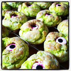 Monster Eyeball Cookies!