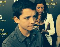 Asa Butterfield. I might be just a little in love with him. Just a little.