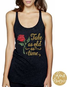 Don't know what to pack for your upcoming Disney Vacation? This is a perfect thing to wear to Disney! Magicaly Glitter Shirt Beauty and the Beast Shirt. This is an affiliate link. #disney #disneyshirt #disneymom #disneyfashion #beautyandthebeast #disney #belle #affiliate