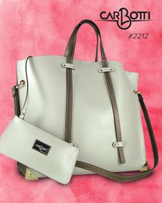 e828491bad This extra-spacious update of the Carbotti Bags has the elegant ease of the  city