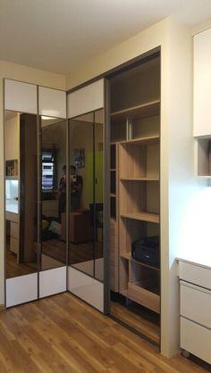 L Shape Wardrobe Closet In 2019 Bedroom Wardrobe Corner Wardrobe Wardrobe Doors