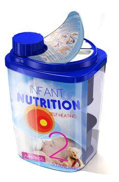 PACKAGING | UQAM: Emballage autochauffant pour lait maternisé