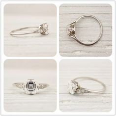 Dream vintage engagement ring by Tiffany and Co.