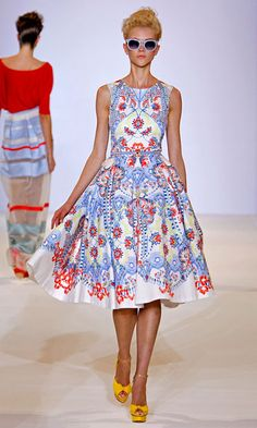 5cbb4a243e19 Alice Temperley London SS 2013. Valentino