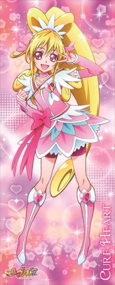 Cure Heart - Doki Doki! PreCure - ドキドキ!プリキュア | ドキドキ!プリキュア 等身大タペストリー キュアハート