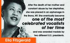 Ella Fitzgerald. #FamousFailures #YoungLiving #Inspiration