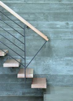 Декоративный бетон в интерьере. 25 Идей