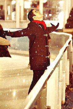 Desde que lo vi, me enamoré completamente,Blaine Anderson.