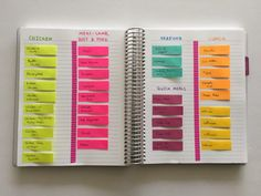 Budget meal planning 125889752067700925 - how to meal plan quickly using sticky notes color coded meal planning favorite meals tip menu planning organizing household binder Source by Planner Pages, Blog Planner, Life Planner, Printable Planner, 2015 Planner, Planner Supplies, Printables, Meal Planner, Planning Menu