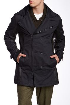 Civil Society | Deacon Asymmetrical Peacoat