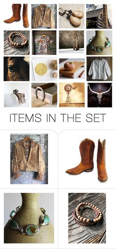 """""""Western Wares"""" by heartsabustin ❤ liked on Polyvore featuring art and country"""