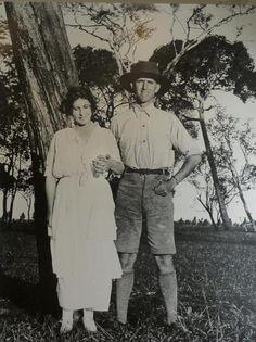 La baronesa Karen Blixen y el cazador inglés Denys Finch Hatton.