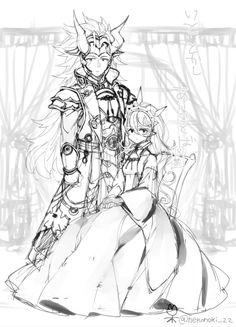 Fire Emblem: If/Fates - Kamui and Ryouma