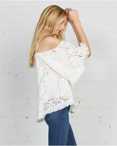 Lace Tusk Top