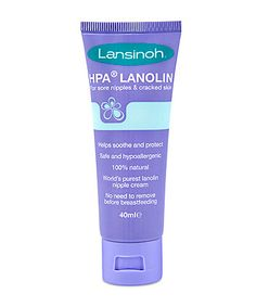 Lansinoh HPA® Lanolin is the safest, purest nipple cream and completely hypoallergenic. It has been specially developed to help soothe and protect sore, cracked nipples in breastfeeding mothers. Breastfeeding Accessories, Breastfeeding Tips, Hipp Baby, Lanolin Cream, Hospital Bag Essentials, Newborn Essentials, Tire Lait, Newborn Baby Care, New Baby Products
