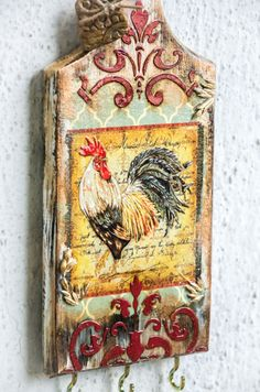 Farmhouse Decor Rooster Kitchen Decor Kitchen By ArtSenseBoutique