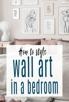 Some gorgeous bedroom wall art ideas with a focus on minimlaism and styling and how to create a feature wall with your prints and posters  wallart #bedroom #minimalist #abeautifulspace Minimalist Interior, Modern Minimalist, Beautiful Space, Beautiful Homes, Bedroom Wall, Bedroom Decor, Contemporary Lounge, Art Ideas, Decor Ideas