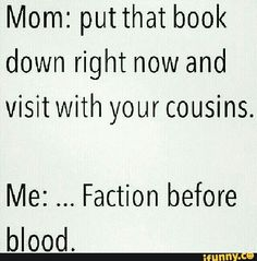 You know a lot of parents have to force there childen to read so be glad they even read