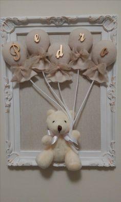 Quadro decoração quarto de bebê