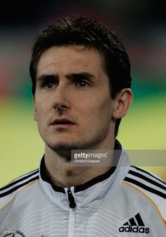 Miroslav Klose of Germany during the international friendly match between Germany and the USA at the Signal Iduna Park on March 22, 2006 in Dortmund, Germany.