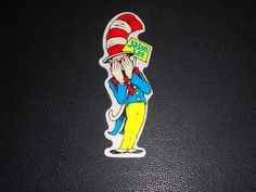 Decals Patches and Stickers 22711: Classic Jason Lee Blind Dr. Seuss Skateboard Sticker World Industries Rocco Htf BUY IT NOW ONLY: $49.99