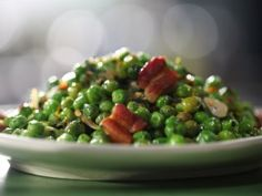 Peas and Bacon from CookingChannelTV.com