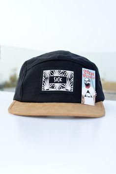 Sick Five Panel Hat By BenPrints Five Panel Hat a33196be1365