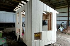 Framing a Large Chicken Coop