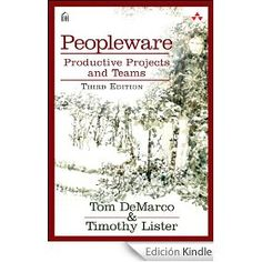 Peopleware : productive projects and teams / Tom DeMarco, Timothy Lister. http://kmelot.biblioteca.udc.es/search~S1*gag/?searchtype=i&searcharg=9780321934116&searchscope=1&sortdropdown=-&SORT=D&extended=1&SUBMIT=Busca&searchlimits=&searchorigarg=i9788441535817