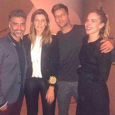 Alejandro Fernández en un viaje lleno de moda en NY con Ricky Martin